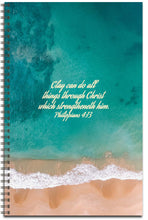 Load image into Gallery viewer, Sparkling Beach Dance - Personalized Journal