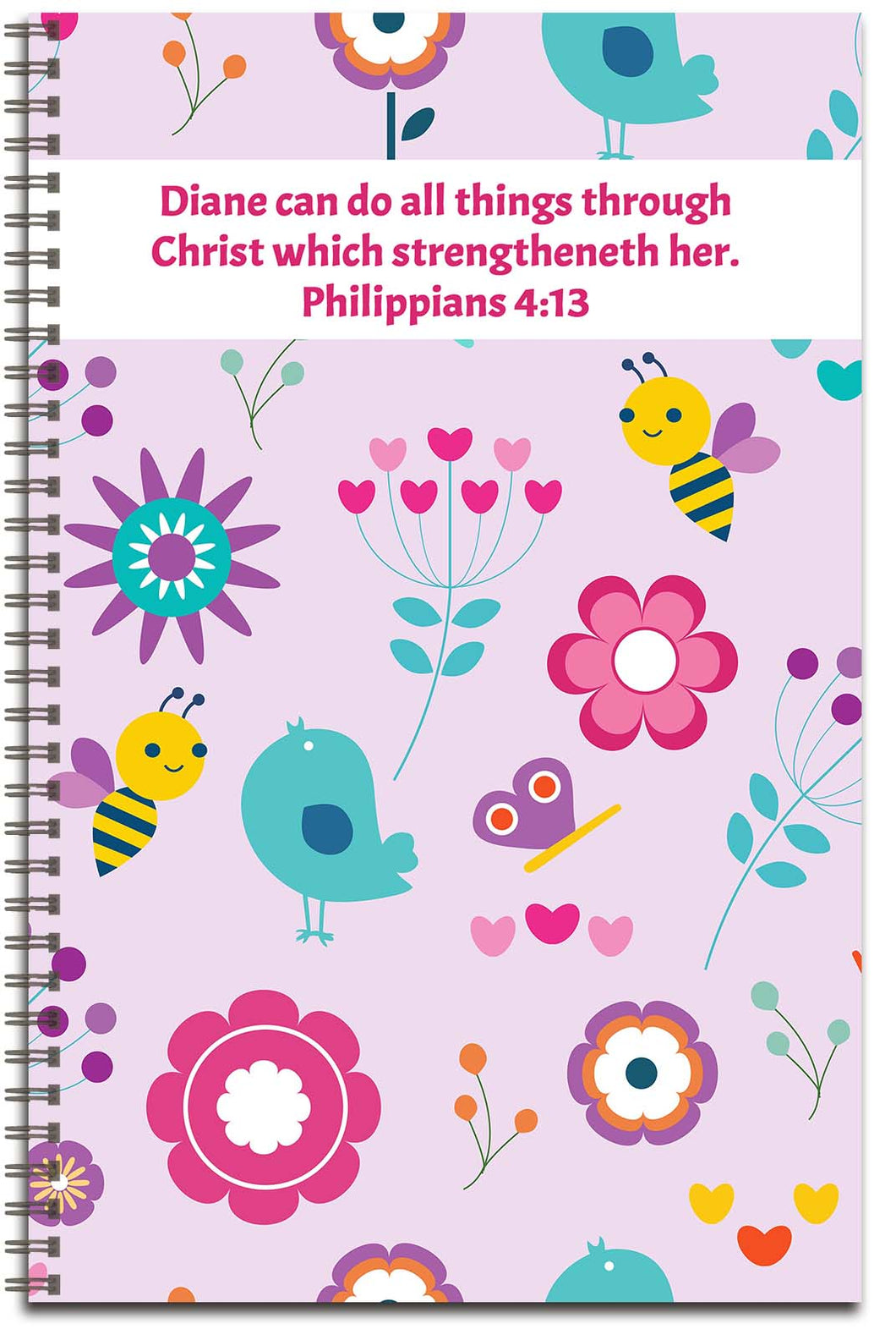 Spring Buzz - Personalized Journal