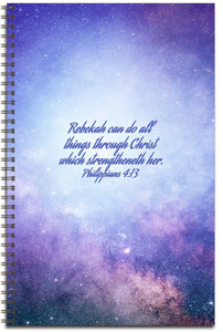 Starry Heavens - Personalized Journal