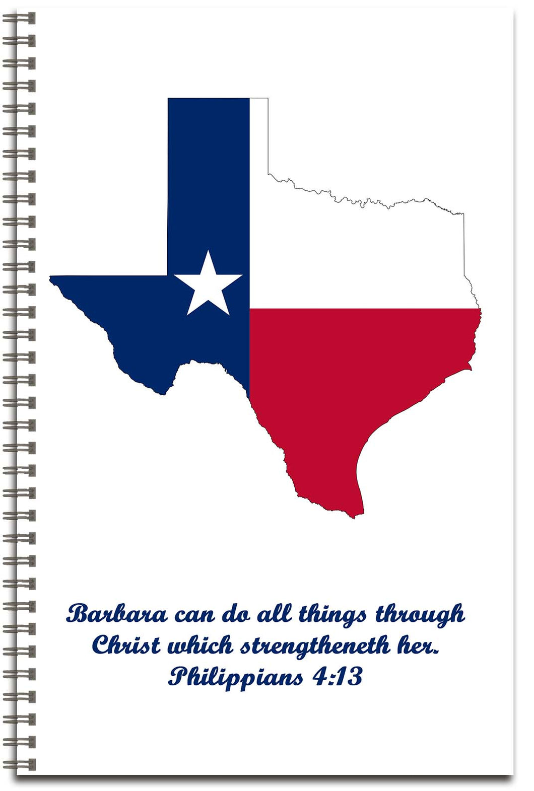 Texas - Personalized Journal