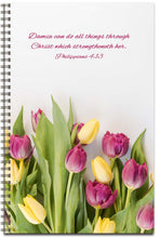 Load image into Gallery viewer, Tulip Delight - Personalized Journal