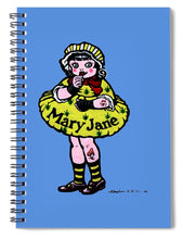 Mary Jane - Spiral Notebook