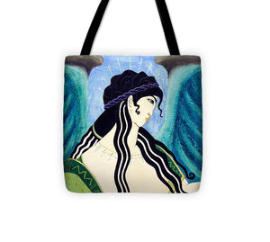Minoan Blue Angel - Tote Bag