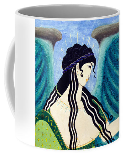 Minoan Blue Angel - Mug