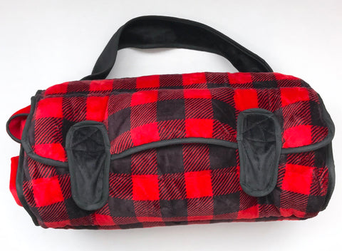 Buffalo Plaid Nap Mat