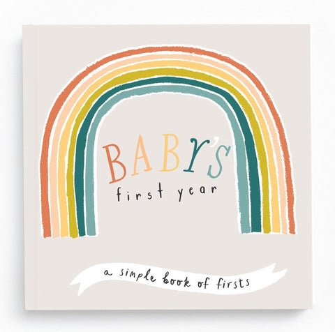 Little Rainbow First Year Memory Book