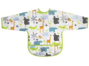 Jungle Sleeves Bib