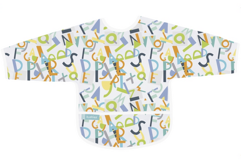 Alphabet Sleeves Bib