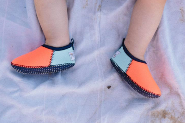 Coral/Mint Water Shoes