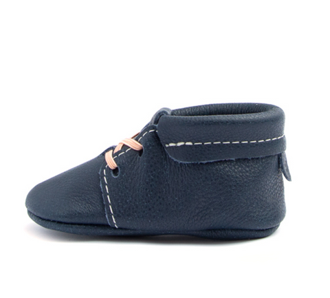 Navy Oxford Mocc
