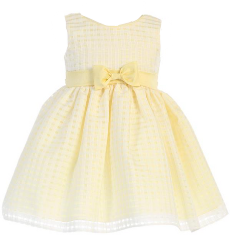 Yellow Squares Dress