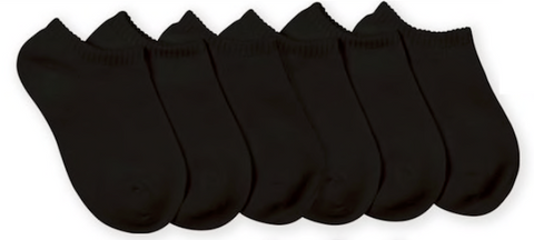 Black Seamless Sock (2-pack)