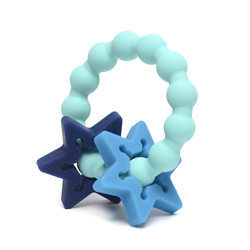 Turquoise Badge Central Park Teether