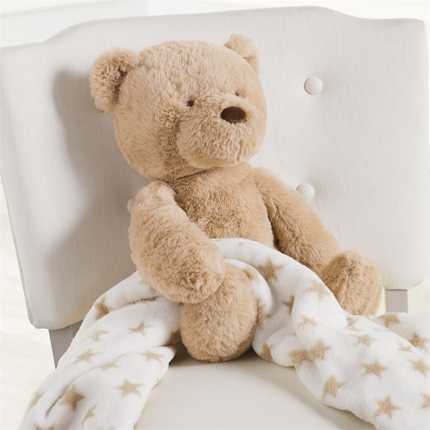 Bear Plush With Blanket