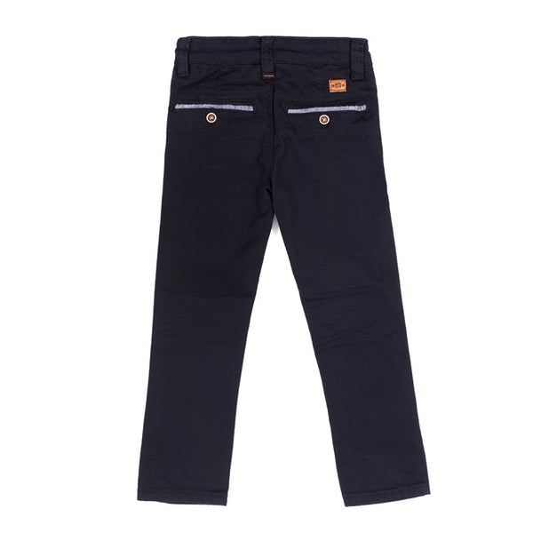 Black Straight Leg Denim
