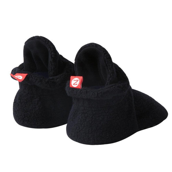 Black Fleece Gripper Bootie