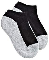 Black/Grey Seamless Sport Low Cut Sock (3-pack)