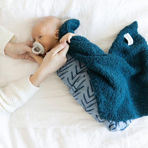 Nautical Blue Bamboni Mini Blanket