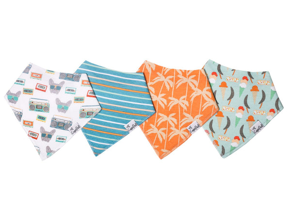 Bruno Bandana Bib Set (4 pack)