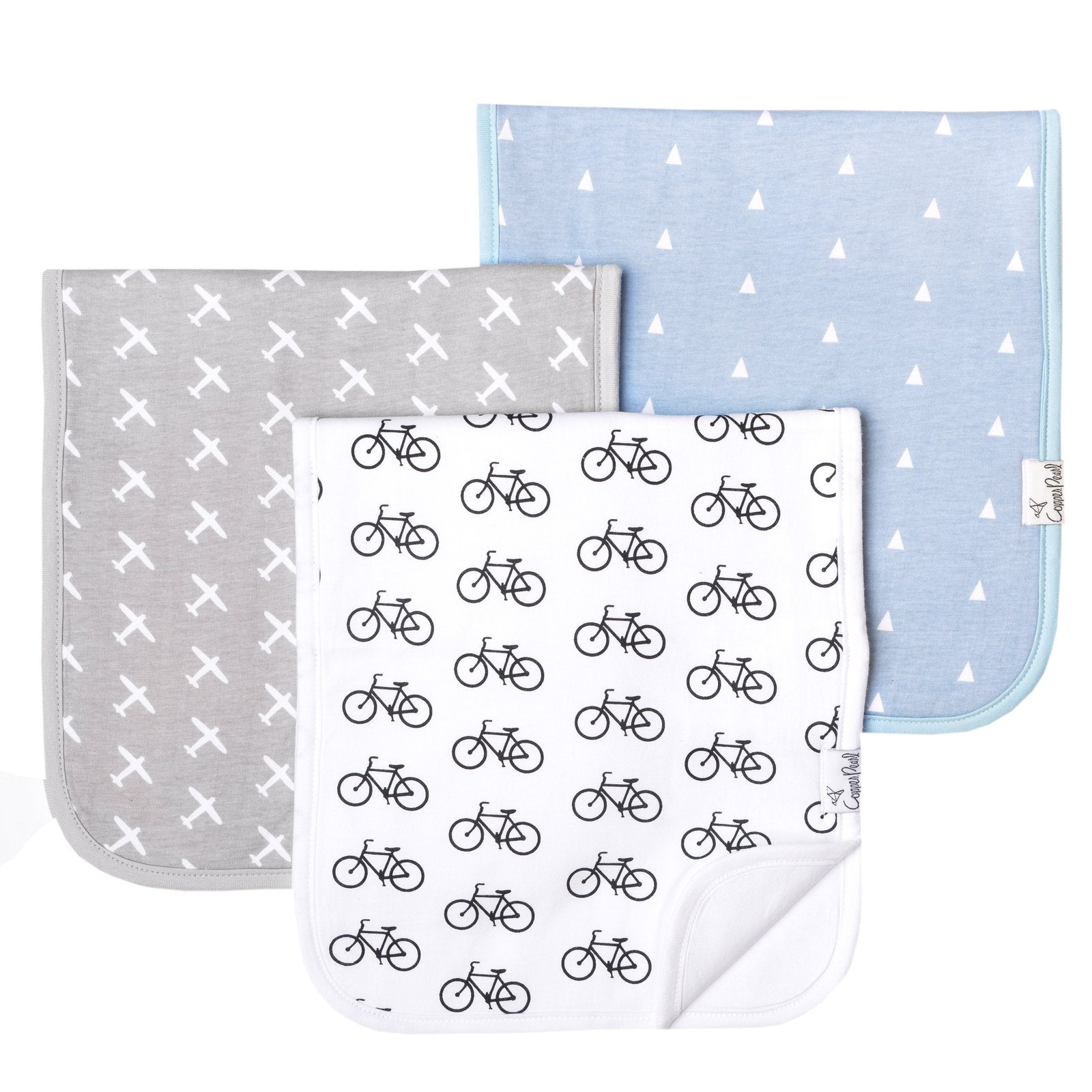 Cruise Burp Cloth Set (3-pack)