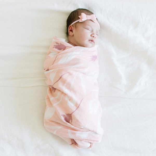 Dutch Fields Bamboo Muslin Swaddle