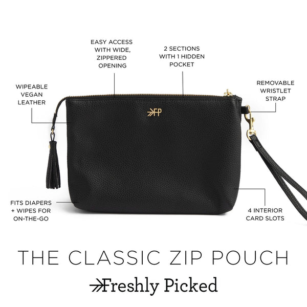 Stone Classic Zip Pouch