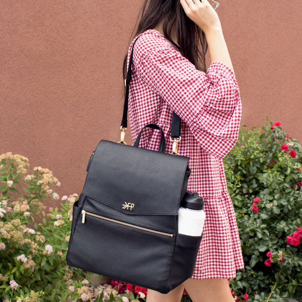 Ebony Classic Diaper Bag