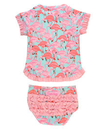 Fab Flamingo 2pc Suit