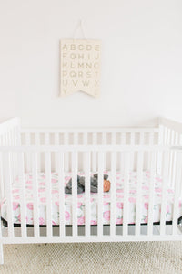 Grace Knit Fitted Crib Sheet