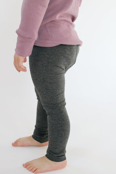 Graphite Heather Leggings