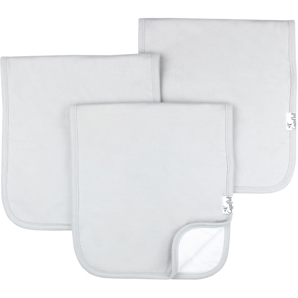 Grey Basics Burp Cloth Set (3-pack)