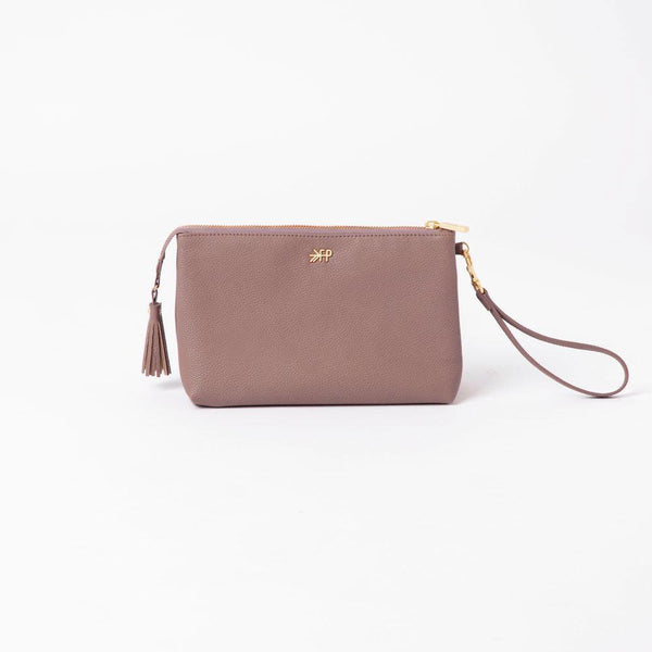 Heather Classic Zip Pouch