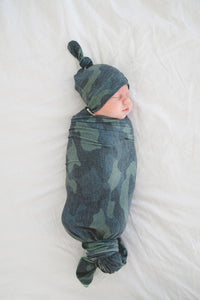 Hunter Knit Swaddle Blanket