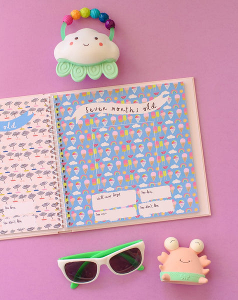 Little Beach Babe First Year Memory Book