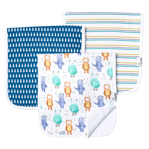 Max Burp Cloth Set (3-pack)