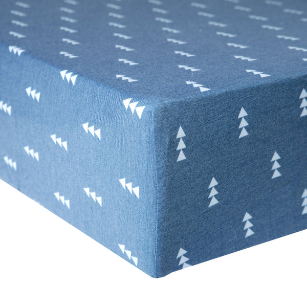 North Knit Fitted Crib Sheet