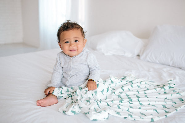 Pacific Knit Swaddle Blanket