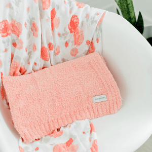 Peach Bamboni Security Blanket