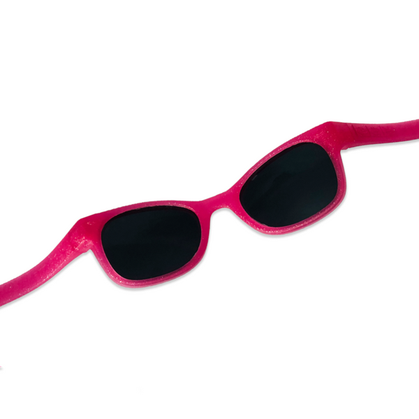 Pink Glitter Toddler Shades