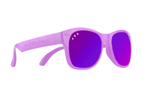 Purple W/ Purple Mirrored Junior Shades