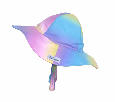 Floppy Swim Hat-Rainbow