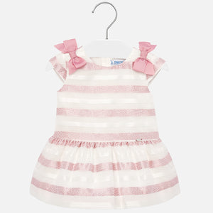 Rosy Stripes Dress
