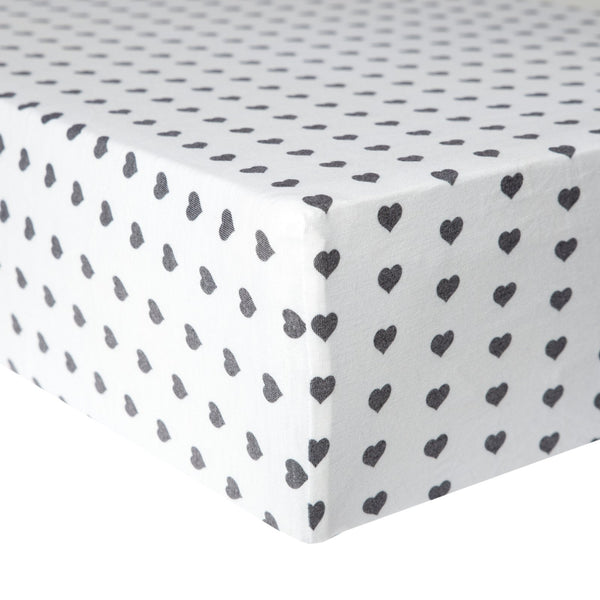 Smitten Knit Fitted Crib Sheet