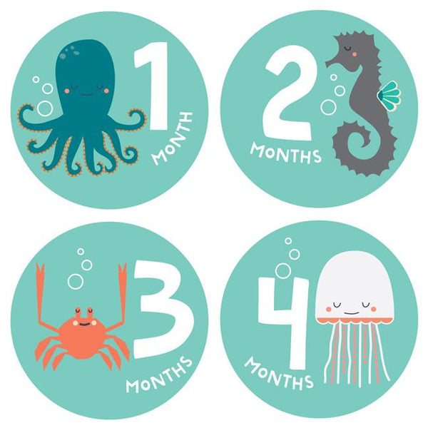 Snorkeling Adventure Monthly Stickers