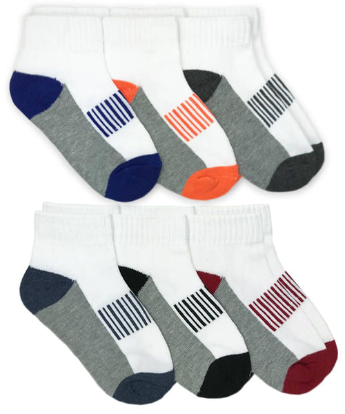 Boys Sporty 6pk Sock