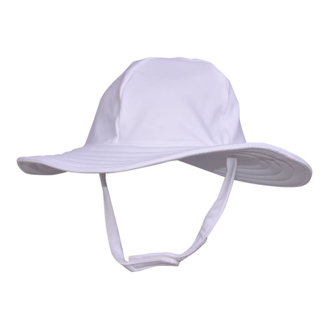 Floppy Swim Hat- White