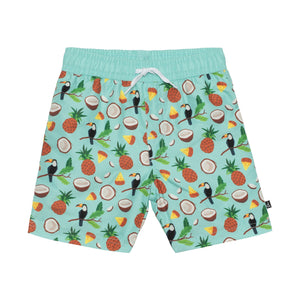 Toucan Swim Trunks