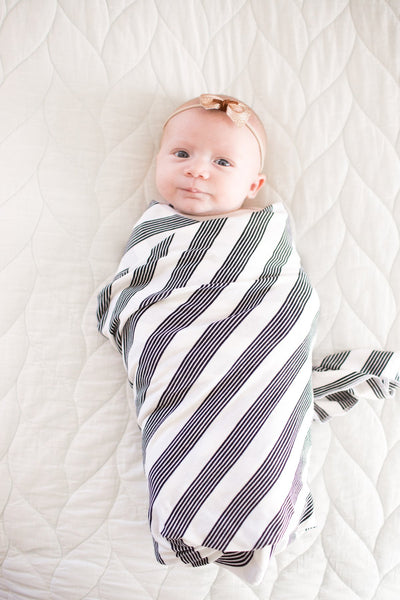 Tribe Knit Swaddle Blanket