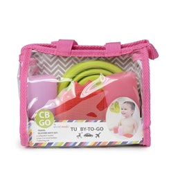 Tubby to go Travel Bath Set Pink