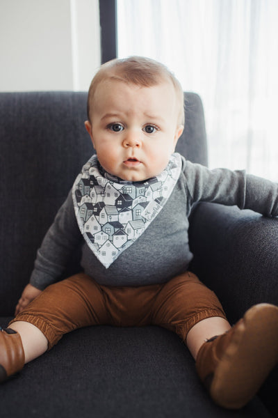 Urban Bandana Bib Set (4 pack)